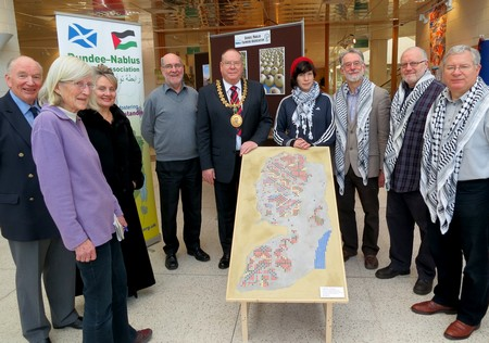 Lord Provost and DNTA members
